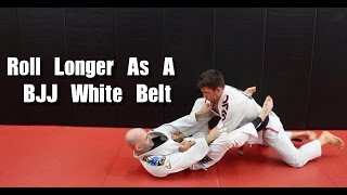 Download Roll Longer As A BJJ White Belt With These Simple Tips Video