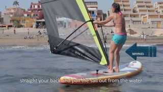 Download How to get on the board? How to start sailing? Black Team Academy - Beginner Windsurfing Video