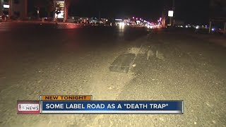Download Motorcyclist labeling road as 'death trap' Video