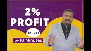 Download 2% profit daily in just 5-10 minutes daytrading of stock market equity cash or future Video