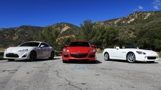 Download FRS (GT86, BRZ) vs RX8 vs S2000 Review - Everyday Driver Video