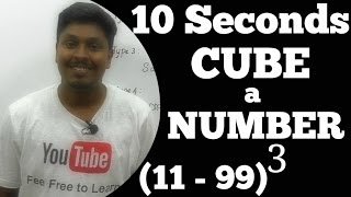 Download How to CUBE a number Faster (Speed maths) Video