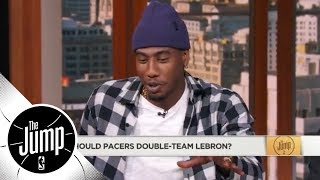 Download Iman Shumpert: The Pacers definitely shouldn't double-team LeBron James | The Jump | ESPN Video