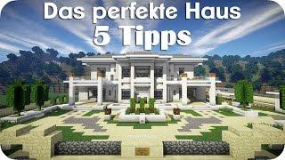 Download 5 Tipps für das perfekte Haus - Minecraft [DE] [HD] Video