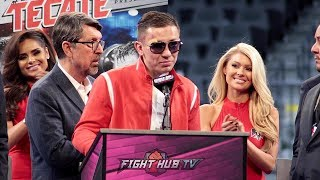 Download GENNADY GOLOVKIN'S FULL POST FIGHT PRESS CONFERENCE - CANELO VS GGG 2 Video