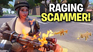 Download Raging insane scammer loses his 130s? 😂 (Scammer Get Scammed) Fortnite Save The World Video