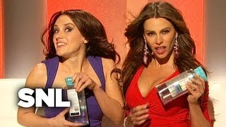 Download Sofia Vergara and Penelope Cruz Sell Pantene Shampoo - SNL Video