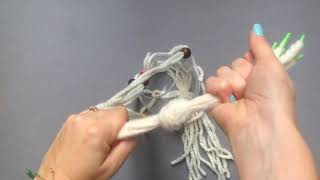 Download Make a hanging macrame planter in under an hour Video