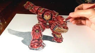 Download HULKBUSTER: Amazing 3D Anamorphic Drawing Illusion #5 Video