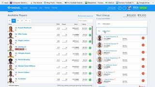 Download NBA DFS: Bottom UP Lineup Construction Strategy Video