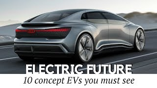 Download 10 NEW Electric Car Concepts that Should Hit the Production Video
