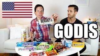 Download Vi Försöker Att Äta 1.8KG USA-Godis (ca: 9000 kcal) . Video