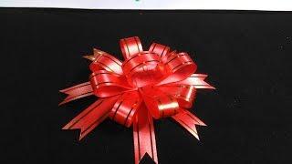 Download วิธีทำโบว์ ติดของขวัญ อย่างง่าย แบบที่ 2 By JuneDIY Video