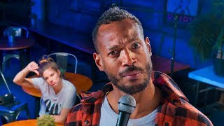 Download Dealing with a Heckler   Marlon Wayans & Hannah Stocking Video