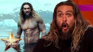 Download Jason Momoa Made A HUGE Mistake While Filming Aquaman | The Graham Norton Show Video