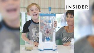 Download The Medimixer makes taking medicine fun Video