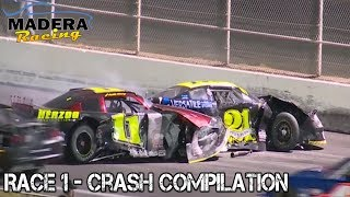 Download Late Models - 2017 - Madera - Race 1 - Crash Compilation Video