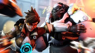 Download [Overwatch] CANT STOP THE WINSTON SHUFFLE! Video