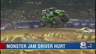 Download Video shows 'Grave Digger' injury incident at Tampa Monster Jam Video