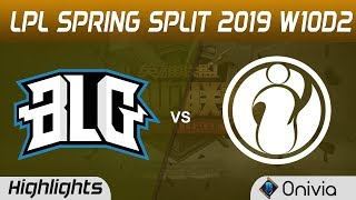 Download BLG vs IG Highlights Game 2 LPL Spring 2019 W10D2 Bilibili Gaming vs Invictus Gaming LPL Highlights Video