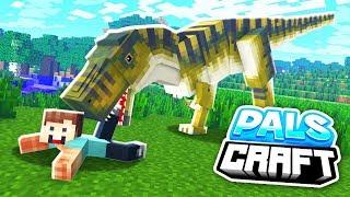 Download WE FOUND A T-REX!! | PalsCraft 2 - Episode 4 Video