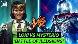 Download Loki Vs Mysterio | Superhero Showdown In Hindi |BlueIceBear Video