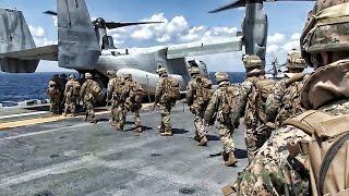 Download MV-22 Osprey Sea-Based Raid • U.S. Marines Video