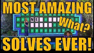 Download 😲😲WHEEL OF FORTUNE'S MOST AMAZING SOLVES EVER!😲😲 Video