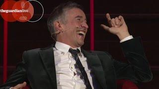 Download Steve Coogan meets Armando Iannucci   Guardian Live Video