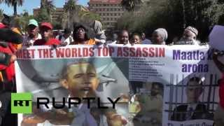 Download South Africa: ″Obama is a war criminal!″ declare protesters Video