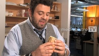 Download Adam Richman Makes His Favorite Sandwich Video