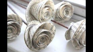 Download Cara membuat bunga mawar dari kertas mudah dan gampang   ide kreatif Video