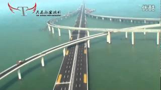 Download China Has Opened The World's Longest Sea Bridge Video