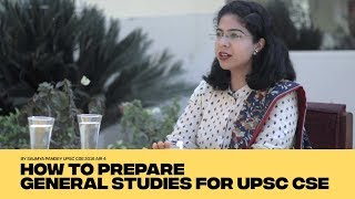 Download AIR 4 CSE 2016 Saumya Pandey IAS - How to prepare GS for UPSC CSE - Strategy, Booklist and Tips Video