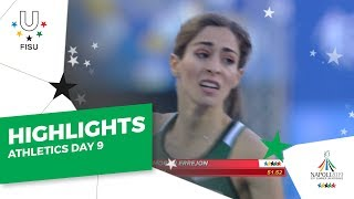 Download Highlights Day 9 I Athletics Track #Napoli2019 Video