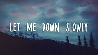 Download Alec Benjamin - Let Me Down Slowly (Lyrics) Video
