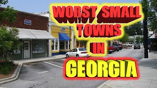 Download Top 10 worst small towns in Georgia, USA. A couple Walking Dead towns. Video