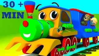 Download The Wheels On The Train Go Round And Round | Plus Wheels On The Bus By SmartBabySongs Video