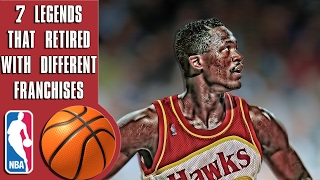 Download Why these 7 NBA Legends retired with different franchises Video