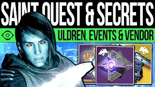 Download Destiny 2 | NEW VENDOR & TOWER SECRET! Uldren Found, Event Weapons, Dawning Exotic, NEW Catalysts Video