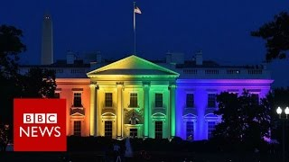 Download Can Trump outlaw gay marriage? BBC News Video