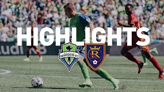 Download Highlights: Seattle Sounders FC vs Real Salt Lake | May 20, 2017 Video