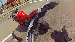 Download MOTORCYCLE CRASHES and MISHAPS 🔥 ROAD RAGE \ BIKER CRASHING HARD [Ep #20] Video