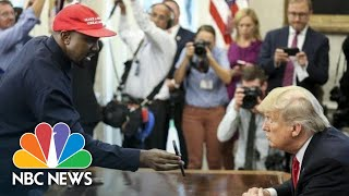 Download Full Video: Kanye West's Meeting With President Donald Trump At The White House | NBC News Video