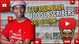 Download How to Get Your First 100 Subscribers on YouTube in 2018 Video