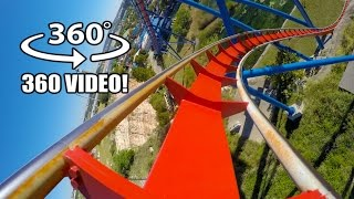 Download Superman Roller Coaster 360 VR POV Six Flags Fiesta Texas Virtual Reality #rollercoaster Video