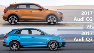 Download 2017 Audi Q2 vs 2017 Audi Q3 (technical comparison) Video
