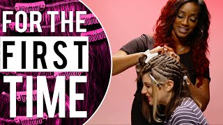 Download White Girls Get Weave 'For the First Time' Video