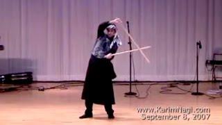Download Karim Nagi performs Tahteeb (Saidi Egyptian cane dance) Video