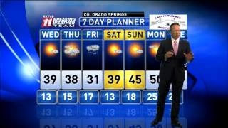 Download Pikes Peak region forecast Video